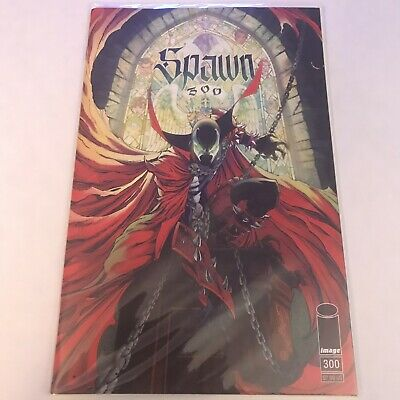 Spawn 300 Cover G 9.4+ NM+/M- J. Scott Campbell Virgin Variant In Hand