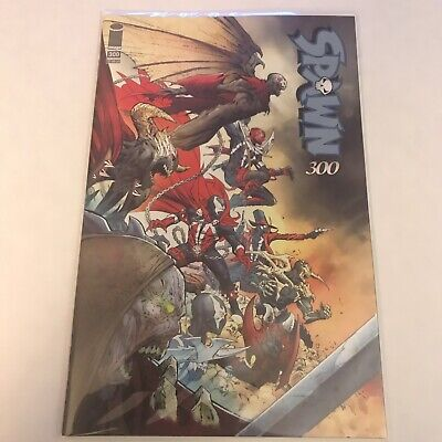 Spawn 300 Cover H 9.4+ NM+/M- Jerome Opena Variant In Hand