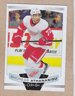 19/20 Opc...andreas Athanasiou...card # 224...Red Wings...free Combined Shipping