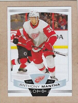 19/20 Opc...anthony Mantha...card # 95...Red Wings...free Combined Shipping