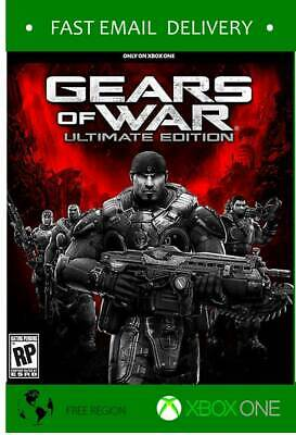 Gears of War ultimate Edition Fast code Xbox One - *READ TERMS*
