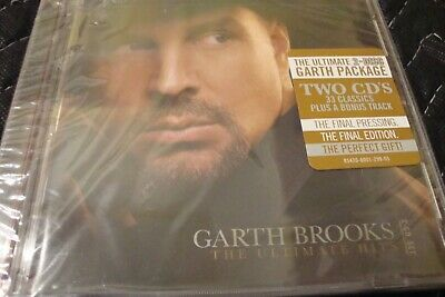 The Ultimate Hits by Garth Brooks (CD, 2 Discs) New Sealed Final Edition Gift K2