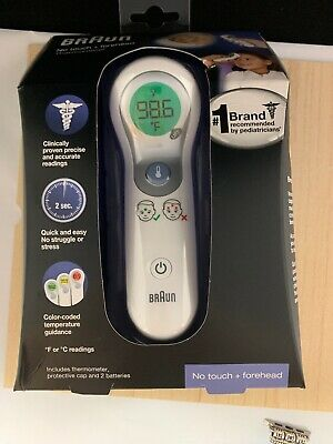 Braun No Touch + Forehead Thermometer NTF3000 NEW
