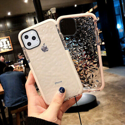Clear Shockproof Hybrid Protective Case TPU for iPhone 11 Pro Max XS XR 7 8 Plus