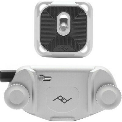 Peak Design CP-S-3 camera clip Capture V3, silver. No Fees! EU Seller!