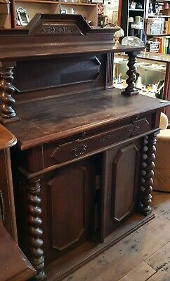 Sideboard Chiffonier Oak Jacobean Gothic Price Drop Dining South Melbourne
