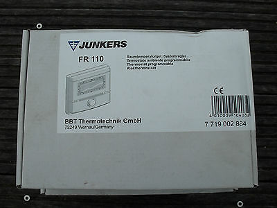 Junkers FR 110 Thermostat d'ambiance