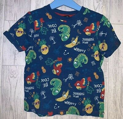 Boys Age 3-4 Years - T Shirt From George