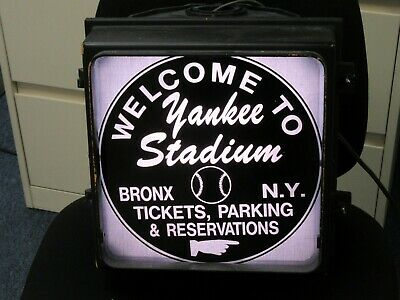 Yankee Stadium Traffic Light Stadium Sign