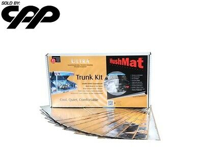 10 Piece HushMat 10301 Ultra Silver Foil Trunk Kit with Damping Pad