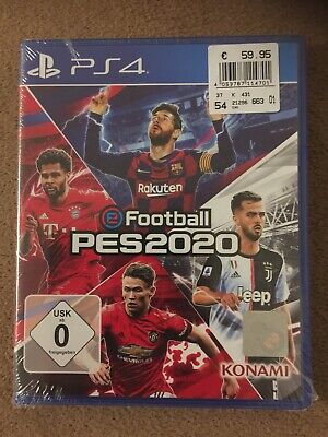 eFootball PES 2020 - PlayStation 4 - NEU&OVP (in Originalfolie eingeschweißt)