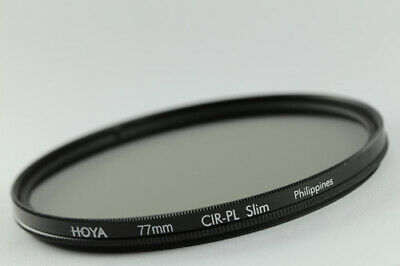 Hoya 77mm CPL Filter Slim Frame CIR-PL Circular Polarizing Sony Lenses+Lens Pen