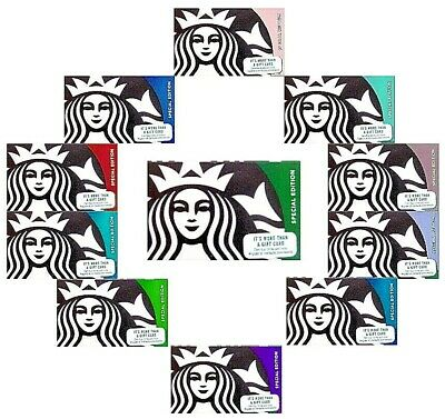 YOU CHOOSE -Starbucks Cards - 2018 - Valentine - Teacher - Fathers Day and More!