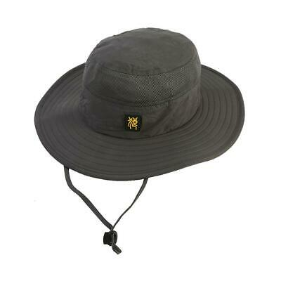 Outdoor Sun Protection Boonie Hat with Adjustable Straps (grey)