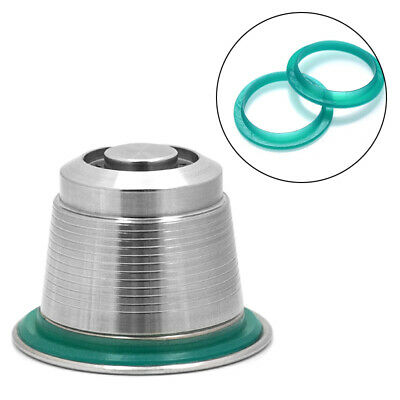 Rechargeable Couvercle Capsules O-Ring pour Nespresso-Maschine Remplacement Café
