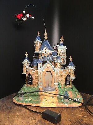 Lemax SPOOKY Town 2007 VAMPIRE Castle Lighted And Animated Halloween Retired