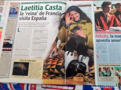 LAETITIA CASTA felicity    clippings