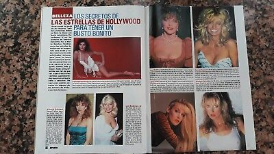 Clippings Farrah Fawcett Pamela Bellwood Morgan Fairchild Joan Collins Jerry Hal