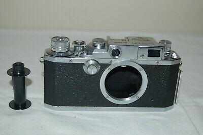 Canon 4sb Vintage 1952 Japanese Rangefinder Camera. Service. No.75305. UK Sale