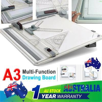 Drawing Board Table Tool With Parallel Motion Adjustable Angle Drafting