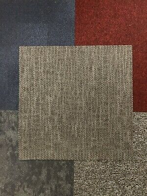 Abstract Grey Carpet Tiles - New Factory Seconds (x300)