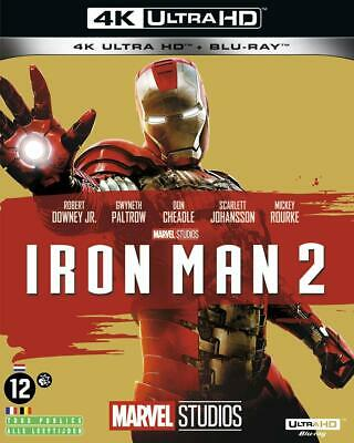 Iron Man 3 Blu Ray 4K Ultra Hd + Blu Ray  Neuf Sous Cellophane