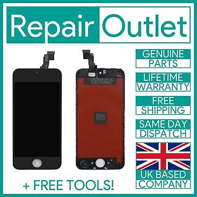 Apple iPhone 5C Black LCD Touch Screen Digitizer Display Replacement OEM IC