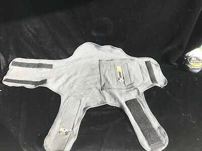 Thundershirt For Dogs Calm Anxiety Gray Size Small
