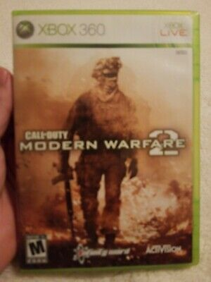 Call of Duty: Modern Warfare 2 xbox 360, backwards compatible plays on xbox one