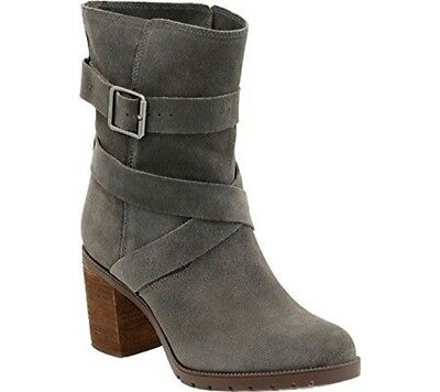 Clarks Black Suede ladies mid calf boots 4//37-7//41 New RRP £90