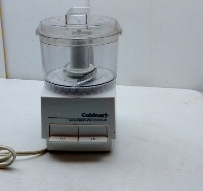 Cuisinart Electric Mini Prep Food Vegetable Chopper Slicer Grater Grinder White