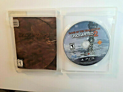 UNCHARTED 2 AMONG THIEVES PlayStation 3 PS3 PERFECT Disc Complete CIB FastShip!!
