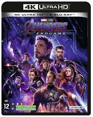 Avengers Endgame Blu Ray 4K Ultra HD + Blu Ray Nuova sotto Cellophane