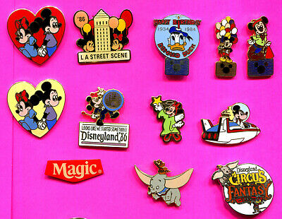 Disney Pins Mickey Mouse Donald Duck Minnie Mouse Dumbo & More