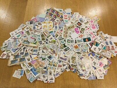 WORLDWIDE STAMPS on Paper  Approx 400 gms Unsorted no GB