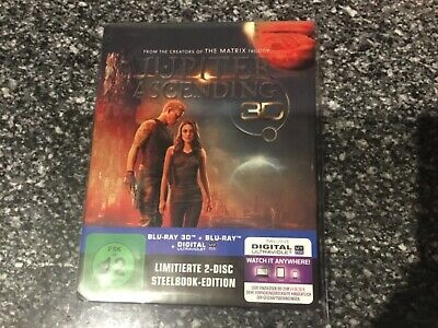 Jupiter Ascending Blu Ray Steelbook