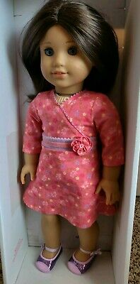 """AMERICAN GIRL Doll 18"""" Chrissa, includes a llama and two outfits"""