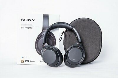 Sony WH-1000XM3 Wireless Noise Canceling Headphones - EXCELLENT CONDITION