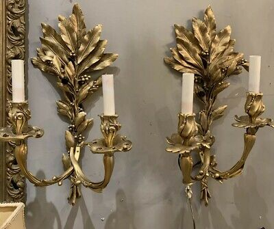 Aidan Gray Verdure Sconce Wall Sconces Antique French Style 6 available