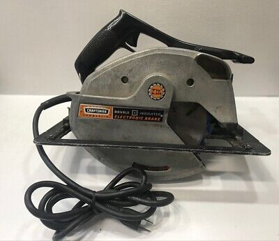 Vintage Sears Craftsman 315.11881 Electric Commercial 7-1/2 Circular Saw USA