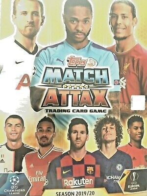 Match Attax 2019/20 Champions League  Binder  Super Squad 17 Cards  Mint