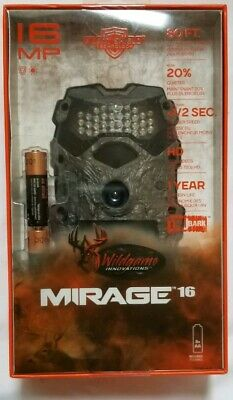 Wildgame Innovations Mirage 16 Lightsout 16MP Hunting Game Trail Camera M16B20-7