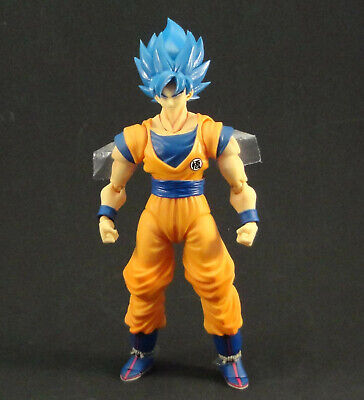 Custom Super Saiyan God Goku BLUE Dragon Ball Super Broly Movie Figuarts BANDAI