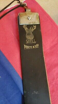 Old Used Vintage Tools Shell.razor Hone Fine Leather Strop