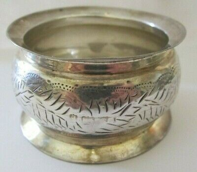 Antique Sterling Silver Napkin Ring Lot # 1 Of Collection ! See All