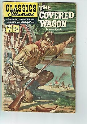 Classics Illustrated #131  The Covered Wagon 1966  G    M17
