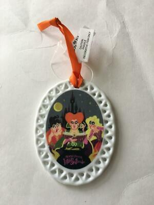 Disney Parks 2019 Mickey's Halloween Party Hocus Pocus Ornament MNSSHP - NEW