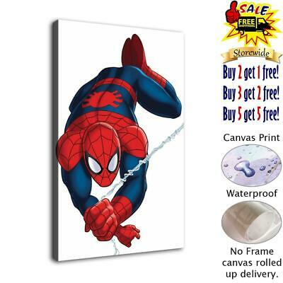 "Spiderman Picture HD Canvas print Painting Home decor Room Wall art 12""x18"""