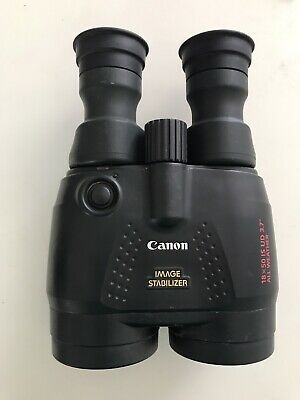 Binoculars AMAZING Canon Image Stabilizer 18x50 is ud 3.7 All Weather