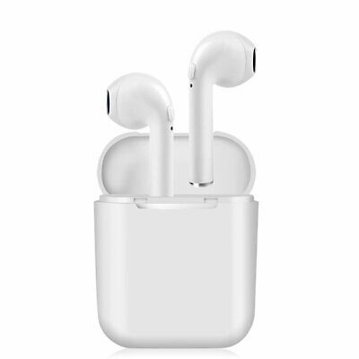 Wireless Bluetooth Earbuds Headphones Earphones For iPhone X With Charger Case